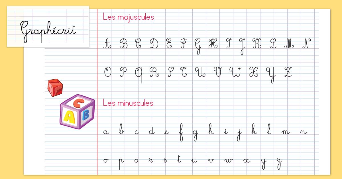écriture cursivedéfinition - écriture en attachée